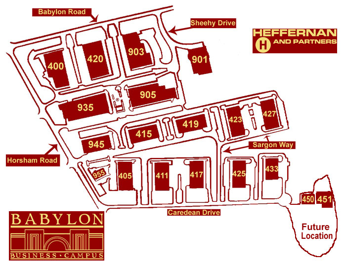 Babylon Campus Site Map